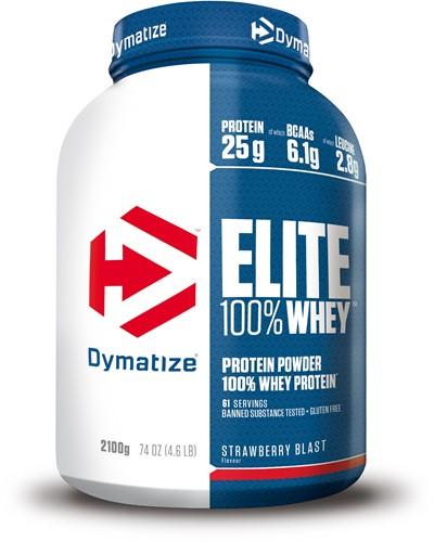 Dymatize Elite Whey Protein Strawberry (2100 gr)