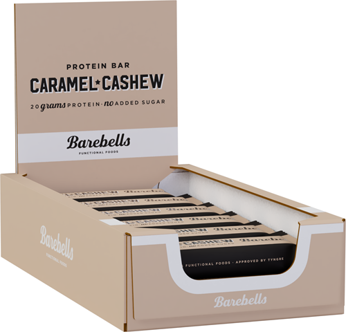 Barebells Protein Bar Caramel & Cashew (12 x 55 gr)