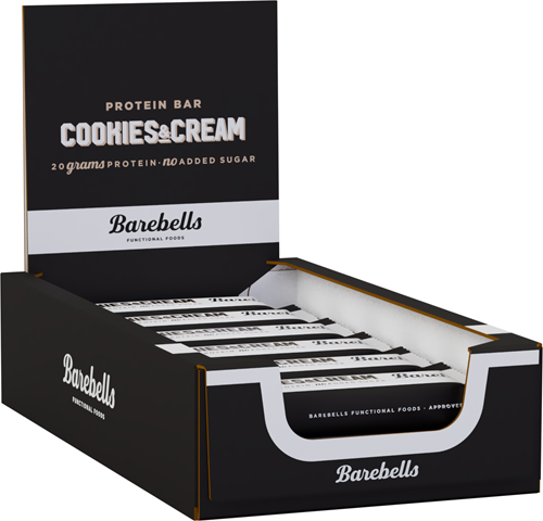 Barebells Protein Bar Cookies & Cream (12 x 55 gr)