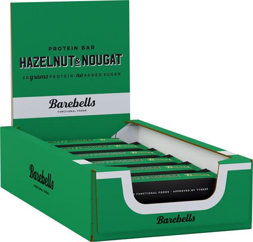 Barebells Protein Bar Hazelnut & Nougat (12 x 55 gr)