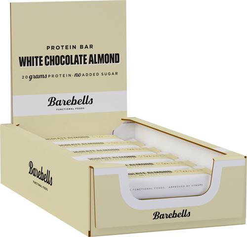 Barebells Protein Bar White Chocolate Almond (12 x 55 gr)