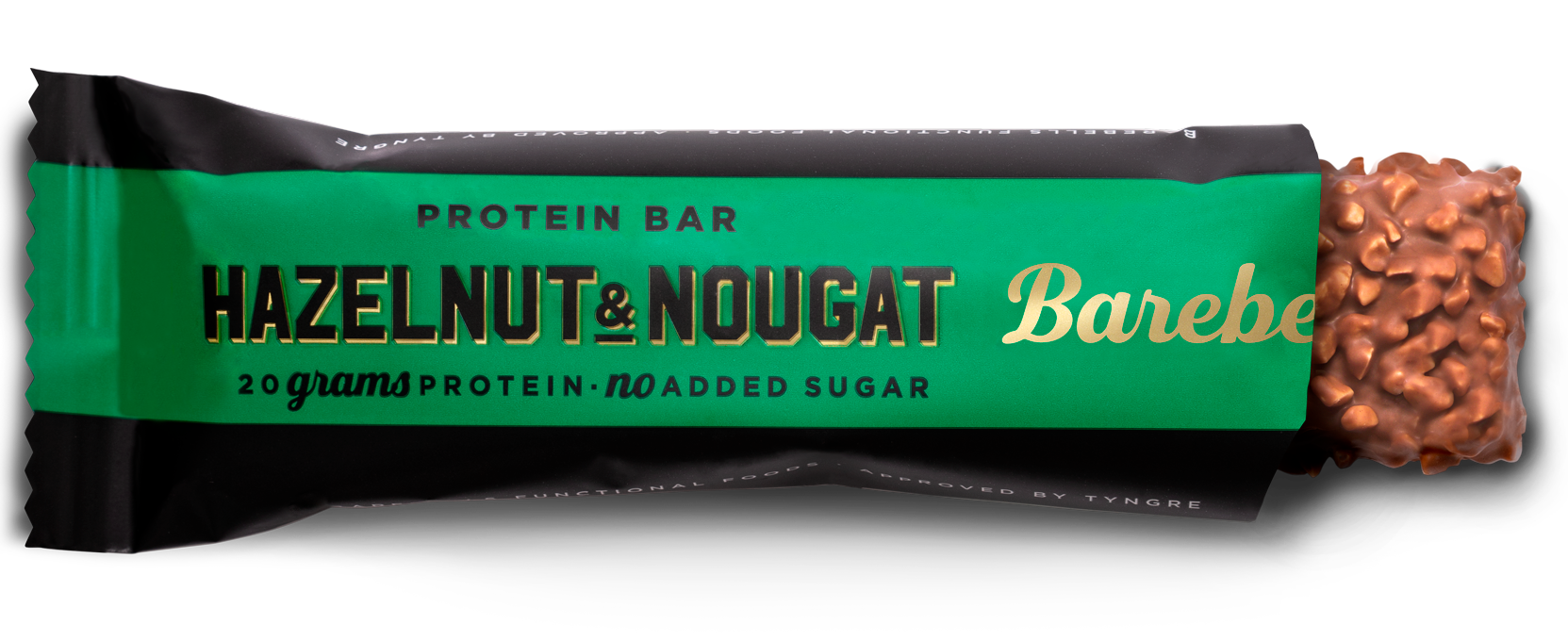 Barebells Protein Bar Hazelnut & Nougat (1 x 55 gr)