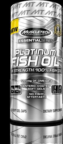 Platinum Fish Oil 4X (60 caps)
