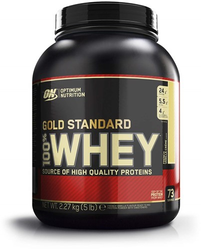 Gold Standard 100% Whey French Vanilla Cream (2270 gr)