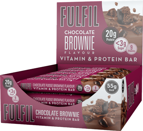 Fulfil Vitamin & Protein Bar Chocolate Brownie (15 x 55 gr)