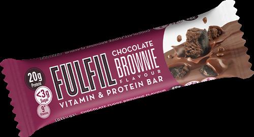 Fulfil Vitamin & Protein Bar Chocolate Brownie (1 x 55 gr)