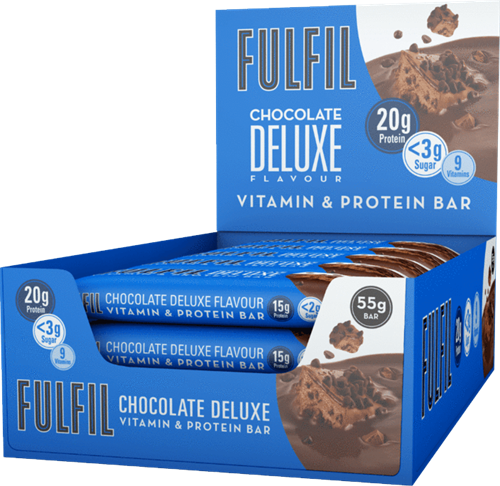 Fulfil Vitamin & Protein Bar Chocolate Deluxe (15 x 55 gr)