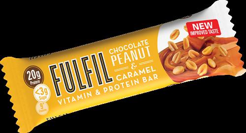 Fulfil Vitamin & Protein Bar Peanut & Caramel (1 x 55 gr)