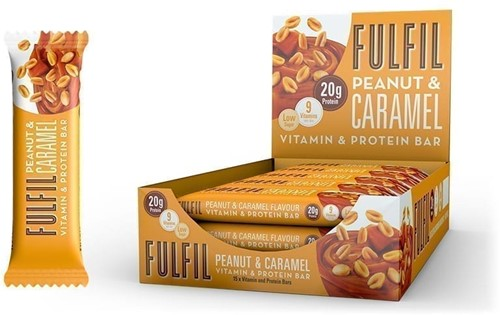 Fulfil Vitamin & Protein Bar Peanut & Caramel (15 x 55 gr)