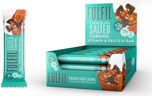 Fulfil Vitamin & Protein Bar Salted Caramel (1 x 55 gr)