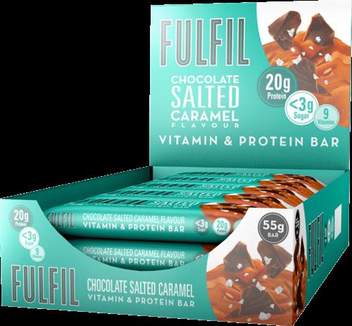 Fulfil Vitamin & Protein Bar Salted Caramel (15 x 55 gr)
