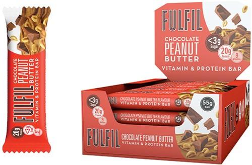 Fulfil Vitamin & Protein Bar Chocolate Peanut Butter (1 x 55 gr)