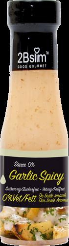 2BSlim 0% Sauce Garlic Spicy (250 ml)