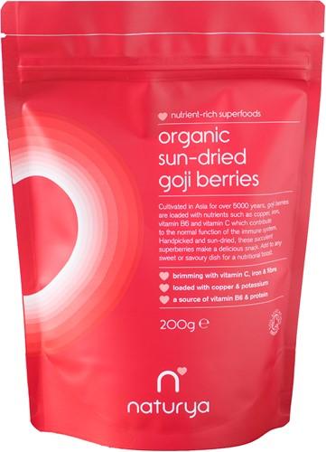 Naturya Organic Goji Berries (200 gr)