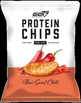 GOT7 High Protein Chips Thai Sweet Chili (6 x 50 gr)