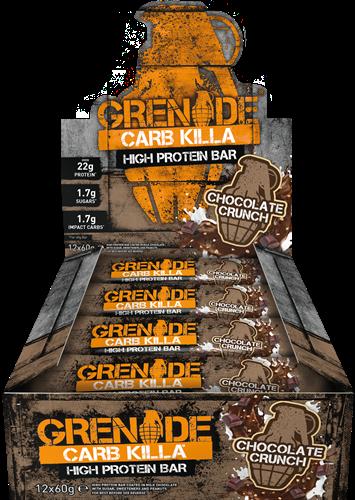 Carb Killa Bar Chocolate Crunch (12 x 60 gr)