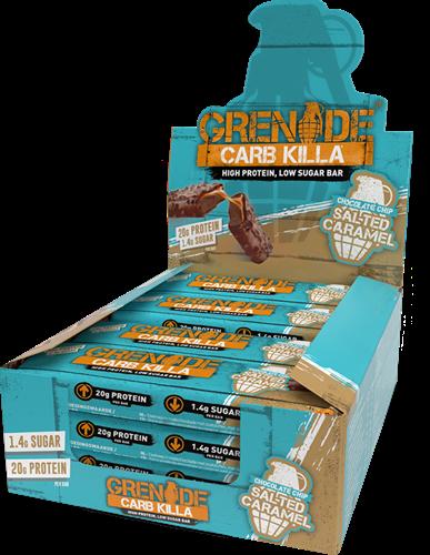 Carb Killa Bar Salted Caramel (12 x 60 gr)