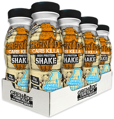 Carb Killa Shake White Chocolate (8 x 330 ml)