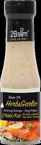 2BSlim 0% Sauce Herbsgarlic (250 ml)