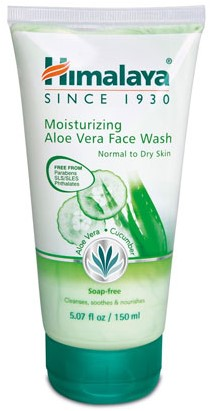 Himalaya Herbals Aloe Vera Face Wash (100 ml)