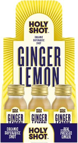 HOLYSHOT Ginger Lemon (12 x 60 ml)