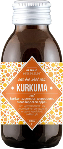 Organic Human Energy Shot Kurkuma (12 x 100 ml)
