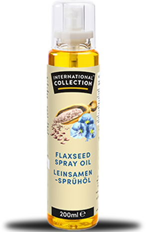 International Collection Spray Oil Flaxseed (200 ml)