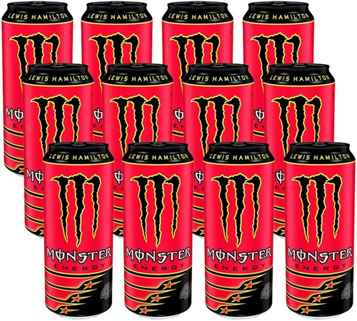 Monster Energy 44 Lewis Hamilton (12 x 500 ml)