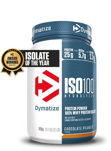 Dymatize Iso 100 Hydrolized Chocolate Peanut (900 gr)