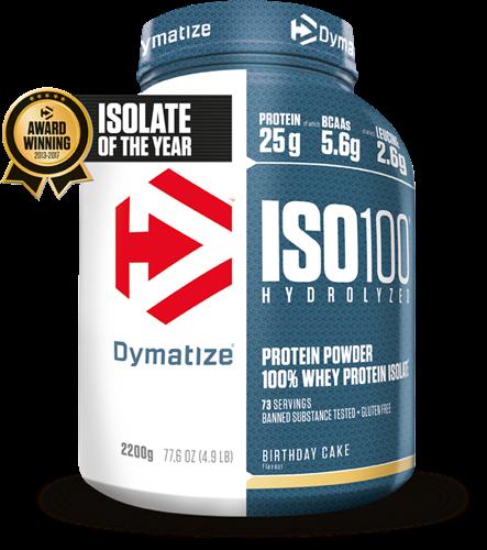 Dymatize Iso 100 Hydrolized Birthday Cake (2200 gr)