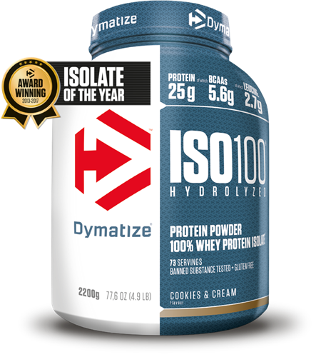 Dymatize Iso 100 Hydrolized Cookies & Cream (2200 gr)