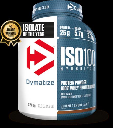 Dymatize Iso 100 Hydrolized Gourmet Chocolate (2200 gr)