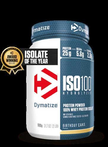 Dymatize Iso 100 Hydrolized Birthday Cake (900 gr)