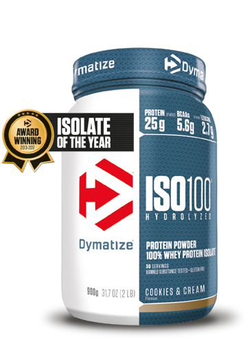 Dymatize Iso 100 Hydrolized Cookies & Cream (900 gr)