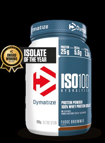 Dymatize Iso 100 Hydrolized Fudge Brownie (900 gr)