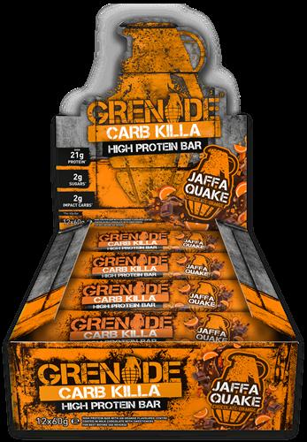 Carb Killa Bar Jaffa Quake (12 x 60 gr)