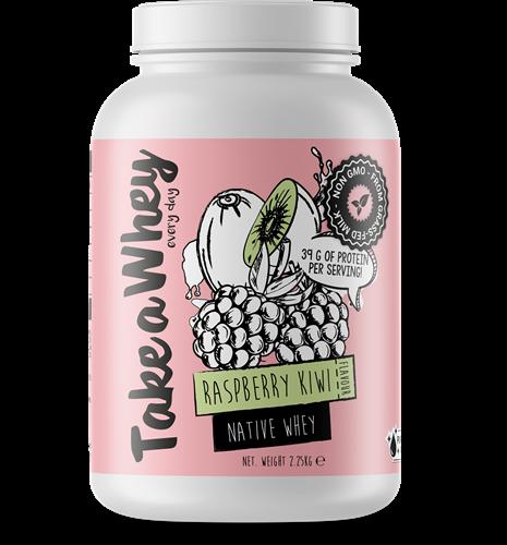 Take-a-whey Native Whey Raspberry Kiwi (2250 gr)