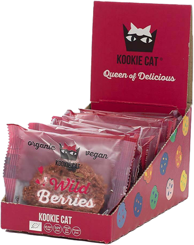 Kookie Cat Wild Berries (12 x 50 gr)