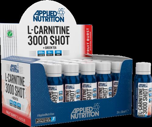 Applied Nutrition L-Carnitine 3000 Shots (24 x 38 ml) Fruit Burst