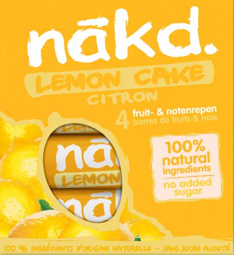 Nakd Bars Lemon Cake (4 x 35 gr)