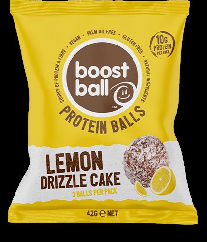 Boostball Protein Balls Lemon Drizzle Cake (12 x 42 gr)