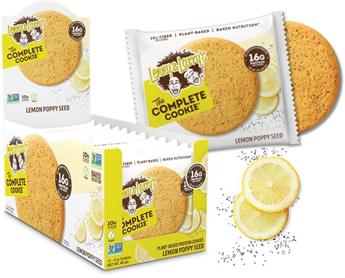 Complete Cookie Lemon Poppy Seed (12 x 113 gr) Ten minste houdbaar tot: 12-2020