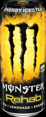 Monster Energy Rehab Lemonade (1 x 458 ml)