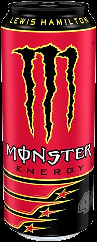 Monster Energy 44 Lewis Hamilton (1 x 500 ml)