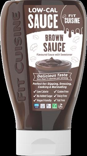 Applied Nutrition Fit Cuisine Low-Cal Sauce Brown Sauce (425 ml)
