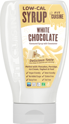 Applied Nutrition Fit Cuisine Low-Cal Syrup White Chocolate (425 ml)