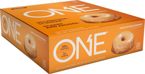 Oh Yeah! One Bar Maple Glazed Donut (12 x 60 gr)