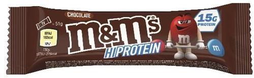 M&M's HiProtein Chocolate Bar (1 x 51 gr)