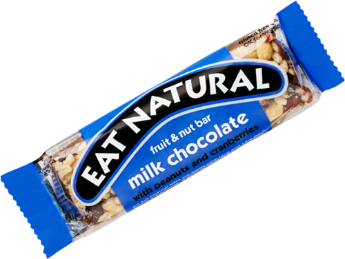 Eat Natural Fruit & Nut Bar Milk Chocolate (1 x 45 gr)