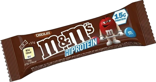 M&M's HiProtein Chocolate Bar (1 x 51 gr)
